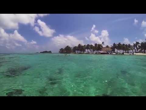 Snorkeling in Laughing Bird Caye, Placencia Belize
