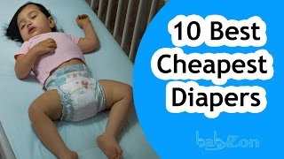 Best Cheapest Diapers 2016 for your Baby