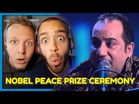 Rahat Fateh Ali at Nobel Peace Prize Ceremony | Reaction by Robin and Jesper