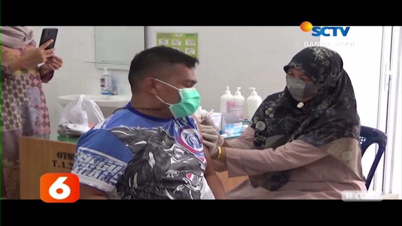 Vaksin Moderna Mulai Disuntikkan Ke Warga   Liputan 6 SCTV Aceh
