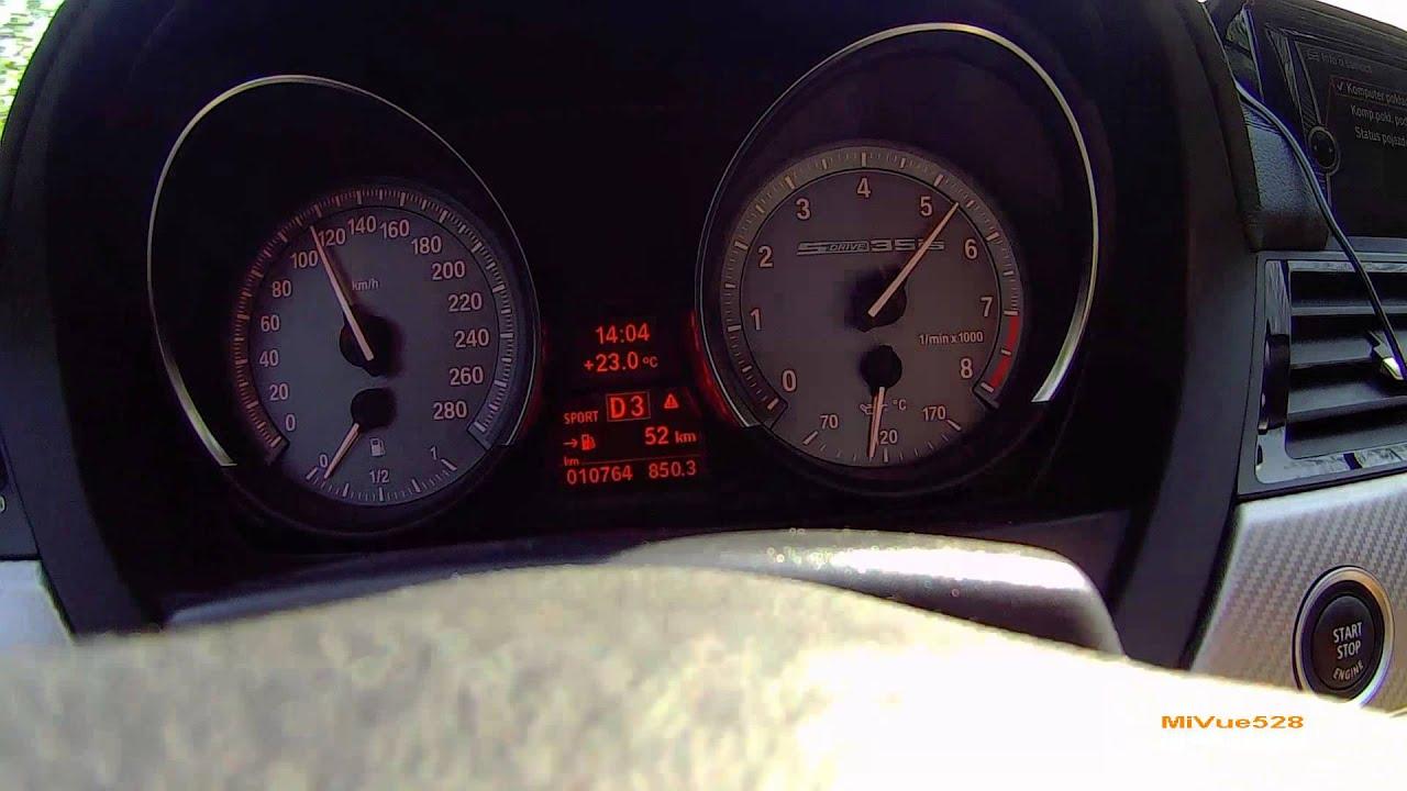 BMW Z4 sDrive35i 0 200 km h acceleration