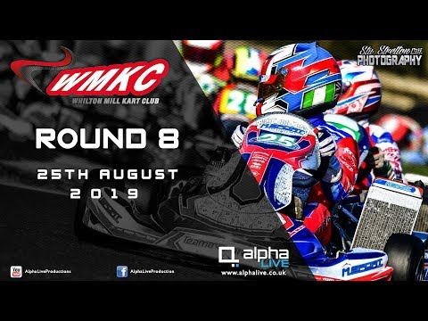 Whilton Mill Kart Club Round 8 LIVE From Whilton Mill