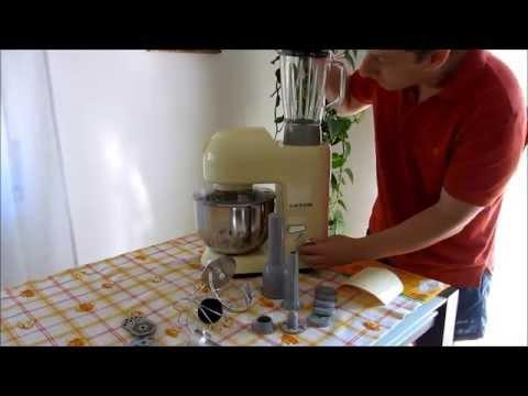 Klarstein Lucia Morena Robot da Cucina Multifunzione Mixer ...