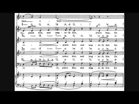Ralph Vaughan Williams - Benedicite