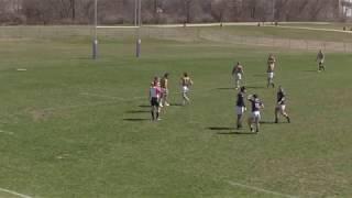 Iowa Central rugby vs UW Eau Claire 7s 4-20-19