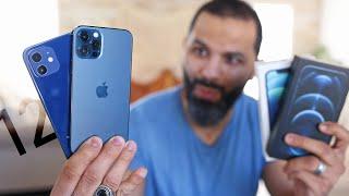إكتشافات أول يوم في iPhone 12 | 12 PRO !