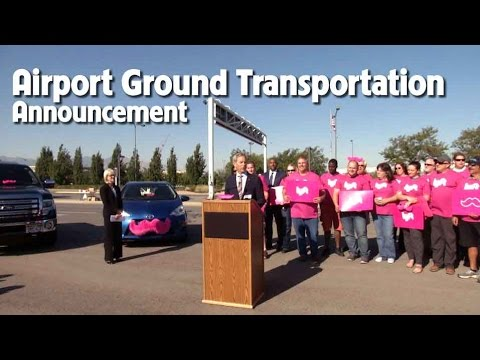 Press Conference - Airport Ground Transportation