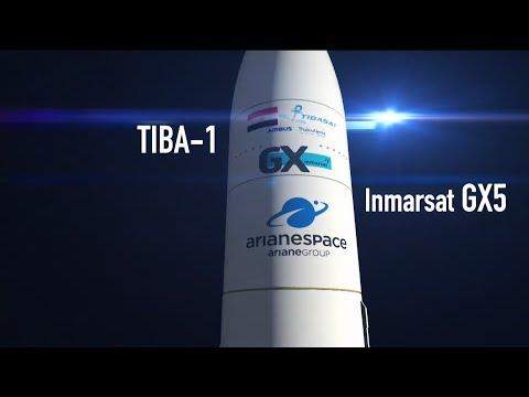 Arianespace Flight VA250  TIBA-1 / Inmarsat GX5 (EN)