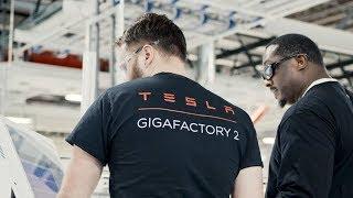 Tesla Gigafactory 2 – Buffalo, New York | Photovoltaic Cell Factory Tour