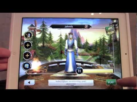 Order and Chaos Online Review ios Android Mac Macintosh MMO Game Loft