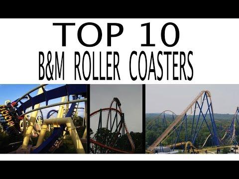 Top 10 Roller Coasters by Bolliger & Mabillard (B&M)