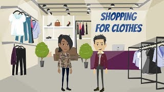 SHOPPING FOR CLOTHES Daily English Conversations Let s Speak English YouTube