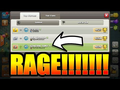 Thumbnail: MY FIRST EVER RAGE QUIT! - Clash Of Clans - BUILDERS VILLAGE NIGHTMARE!