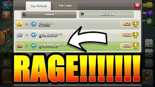 MY FIRST EVER RAGE QUIT! - Clash Of Clans - BUILDERS VILLAGE NIGHTMARE!