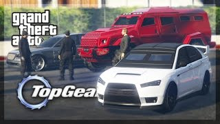 GTA 5 Online - (Top Gear Edition) Armored Cars Challenge!