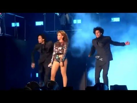 Beyonce & Jay - Z - On The Run Tour - WDYLM/Holy Grail - Miami, Florida 2014 HD
