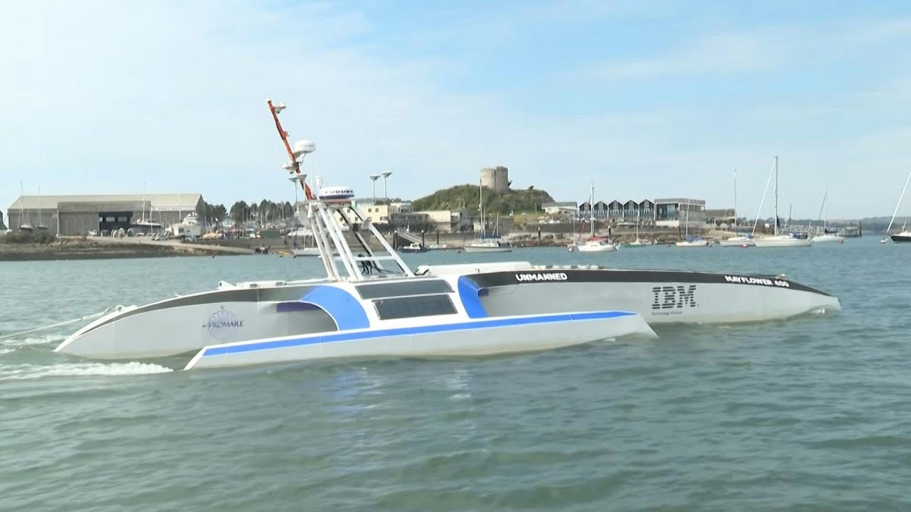 The world's first autonomous ship is ready to set sail.
