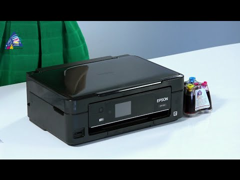 Epson xp-412 printer Wifi Set up and First print | FunnyCat.TV