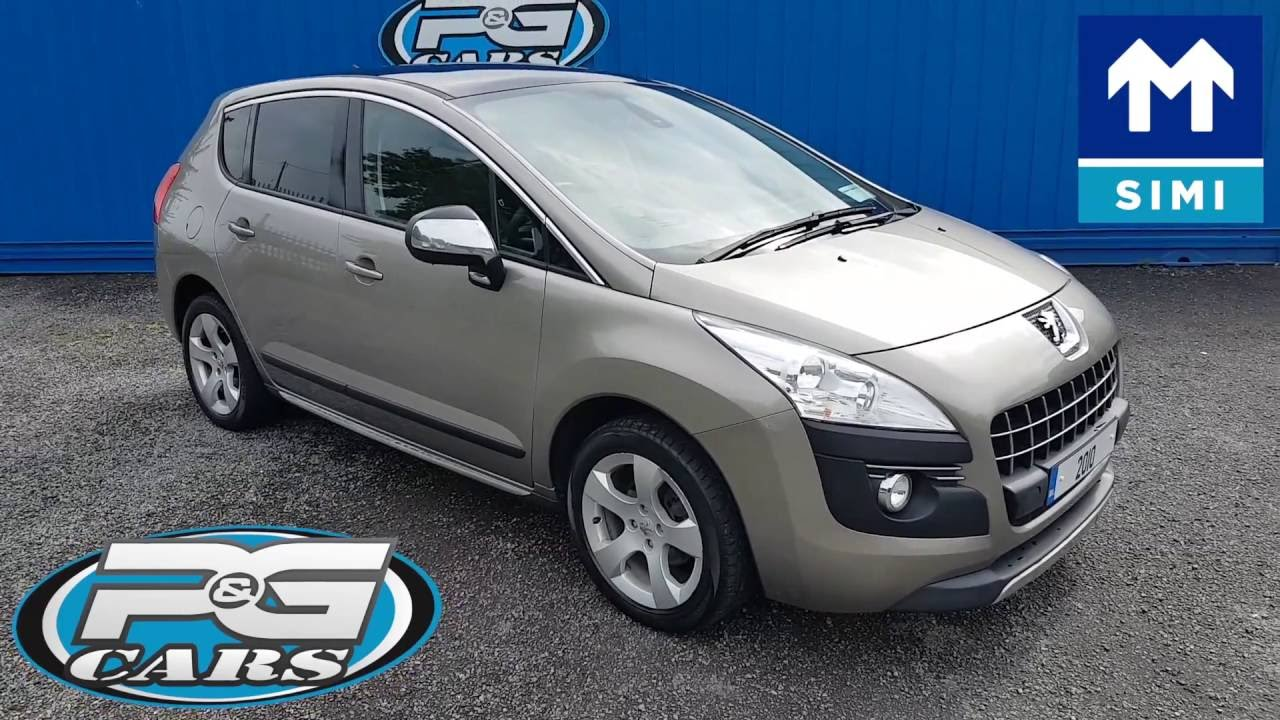 2010 Peugeot 3008 Panoramic Roof Youtube
