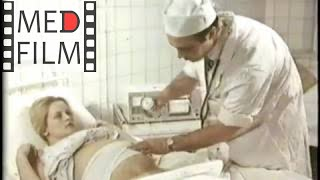 Потуги при родах, декомпрессия, сердцебиение плода © labor attempts. Decompression, fetal heart