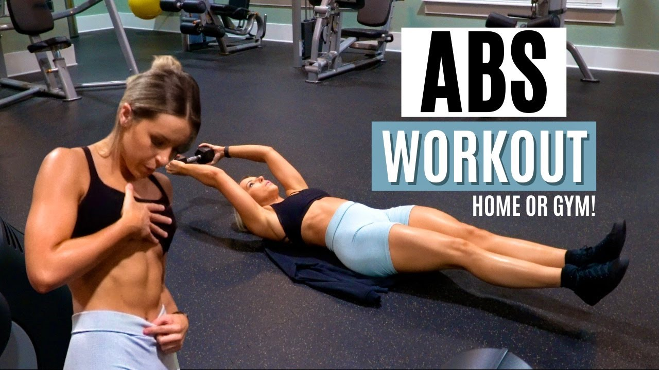 ABS WORKOUT THAT WILL HAVE YOUR CORE ON FIRE!   2 Effective Circuits!
