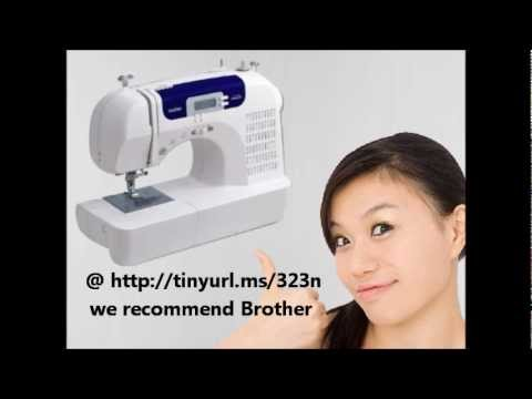 Brother Sewing Machine Review YouTube Cool Brother Sewing Machines Prices