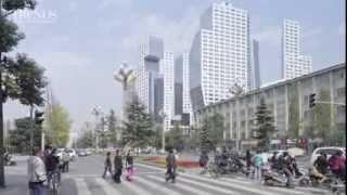 Sliced Porosity - A large commercial development in Chengdu