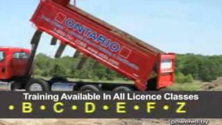 Ontario Truck Driving School - (519)858-9338