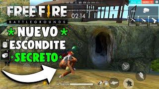 NUEVO* ESCONDITE ULTRA SECRETO EN FREE FIRE Y TU NO SABIAS!! - ESCONDITE ÉPICO EN FREE FIRE JORPA_17