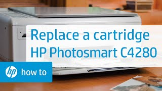 Replacing a Cartridge - HP Photosmart C4280 All-in-One Printer(, 2009-07-14T20:16:16.000Z)