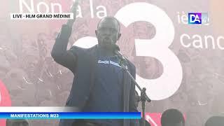 """M23- Babacar Diop: """" ils ont rassemblé à la place de la Nation des usurpateurs et des traitres..."""""""