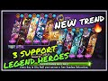 Magic Rush : OP 3 Support Legend Heroes🔥