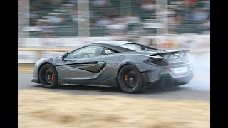 2018 Goodwood Festival of Speed BEST of Day 1 - New 600LT Burnout, 911 GT1, P1 GT and More!!
