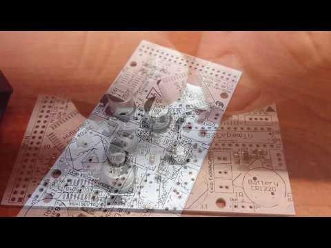 Assembling, soldering PCB NIXIE Clock Board MCU NCM109 GRA & AFCH