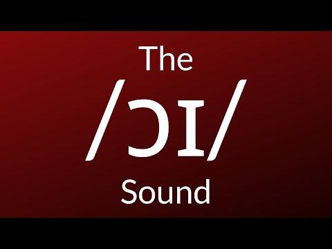The /ɔɪ/ Sound in English (boy, annoyed, employ)