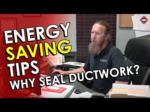 Energy Saving Tips for Home | Seal Ductwork | The Best Furnace Filters
