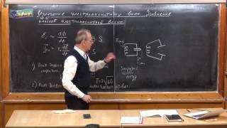 Урок 383. Излучение электромагнитных волн.