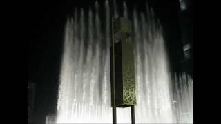 Dubai Fountains show - lo spettacolo delle fontane a Dubai