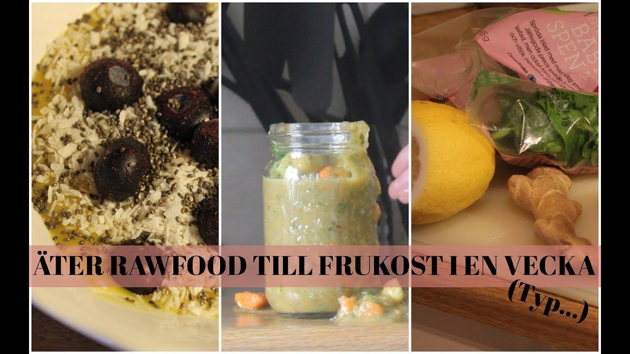 äta raw food