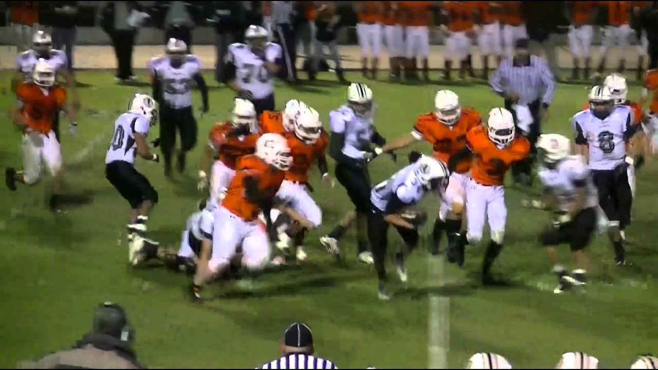 THS Warrior Football Vs. Wasco Tigers - YouTube