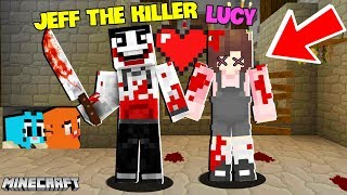 GIẢI CỨU LUCY THOÁT KHỎI JEFF THE KILLER TRONG MINECRAFT*GUMBALL MINECRAFT