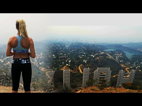 HIKING BEHIND THE HOLLYWOOD SIGN!