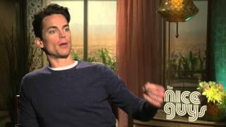 The Nice Guys: Matt Bomer Official Movie Interview