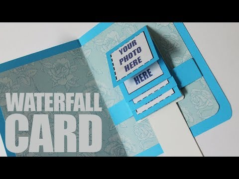 How to make waterfall card easy