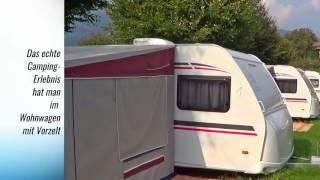 Mietwohnwägen Terrassen Camping Ossiacher See