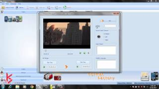 How To Crop a video in format factory in hindi