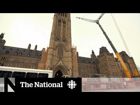 After Notre Dame fire, Canadian Parliament renovations proceed cautiously