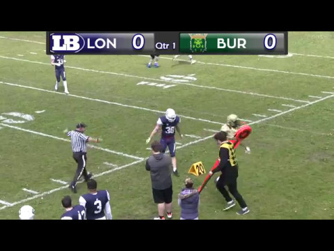 Bury Saints v London Blitz - 7th May 2017 - BAFANL Premiership South