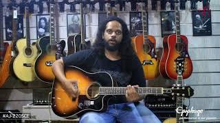 Epiphone  AJ-220 SCE & PR-5E  Acoustic-Electric Guitar