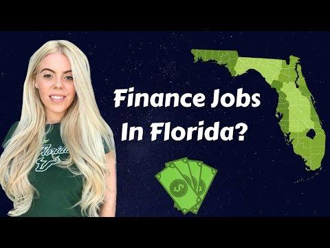Finance jobs in Florida